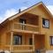 Строительство домой из клееного бруса